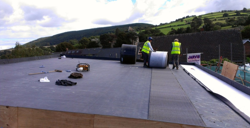 flat roofing services in Barry, Penarth & Cardiff