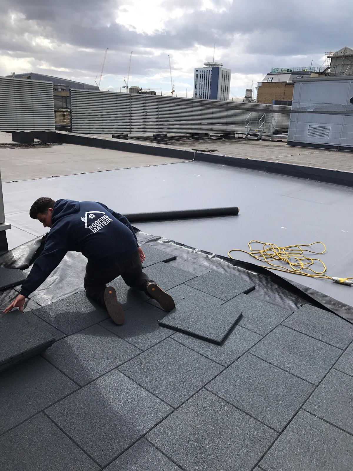 flat roof work in Cardiff